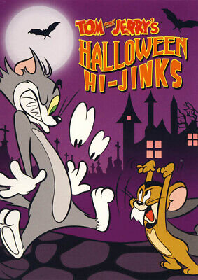 Tom and Jerry's Halloween Hi-jinks New DVD](Tom And Jerry Halloween)