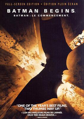 Batman Begins (Completa Pantalla Edición) Nuevo DVD