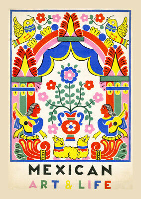 6706.Mexican Art life POSTER.Office Home room Decoration.Graphic art (Office Graphics Design)