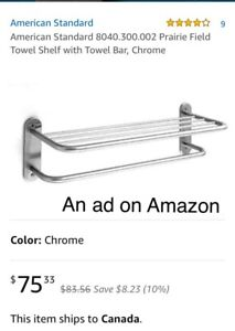 Towel shelf 24""