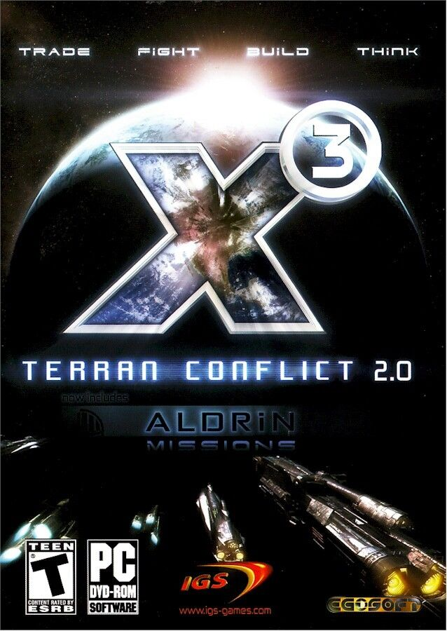 Computer Games - Brand New Computer PC Video Game: X3 TERRAN CONFLICT 2.0