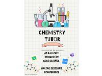 Chemistry Tutor: A Level & GCSE Science
