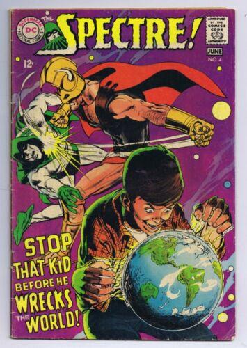 Spectre #4 ORIGINAL Vintage 1968 DC Comics