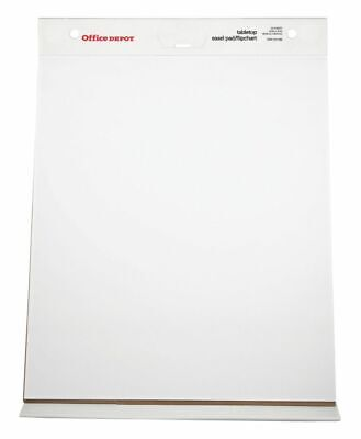 Office Depot Brand Table Top Flip Chart 20 X 23 Plain White Paper 25 Sheets