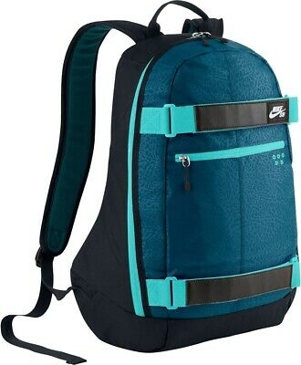 Nike SB Embarca Navy Blue Medium Skateboard Backpack School Bag BA4686-431
