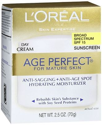 Loreal Dermo Expertise Age Perfect For Mature Skin Day Cream Spf 15 2 50 Oz