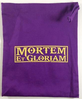 Wargames Zone Mortem Et Gloriam  Accessory Bag New