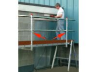 Lightweight Staging Posts and Handrails