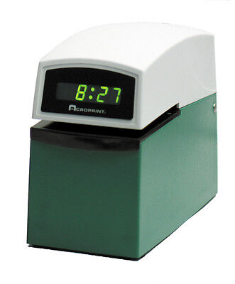 New Acroprint Etc Validation Time Recorder Stamp Clock
