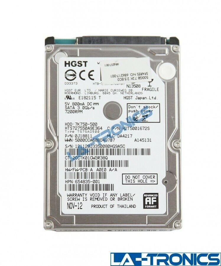 Hitachi HGST 500GB 2.5