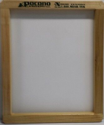 6 New Wood Pocono Screen Printing Frames 20x24 Extreme Tenision Mesh -110