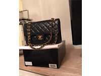 Chanel 2.5 vintage 1993, receipt Sloane street, box, dustbag