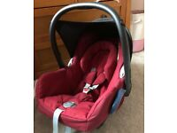 Maxi cosi cabriofix car seat & easifix isofix base