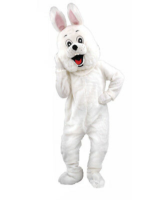 Easter bunny rabbit hare costume mascot deluxe plush furry cosplay adult NEW 74p