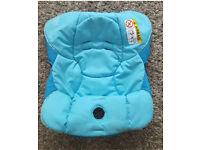 Original Maxi cosi cabriofix car seat cover replacement - Blue mosaic colour