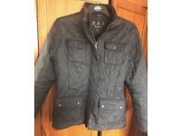 Ladies genuine Barbour jacket black size 14