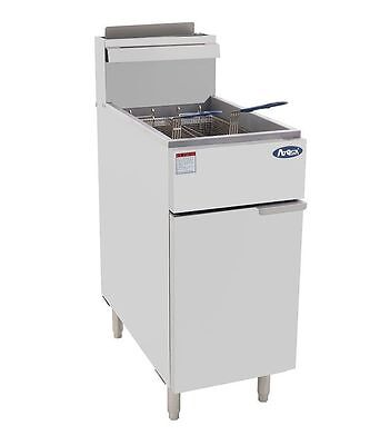 Atosa 40 Lb Stainless Steel Commercial Deep Fryer Atfs-40