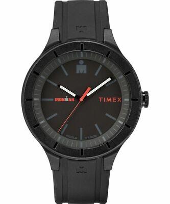 Timex TW5M16800 IRONMAN Essential 43mm Resin Black Strap Men's Watch