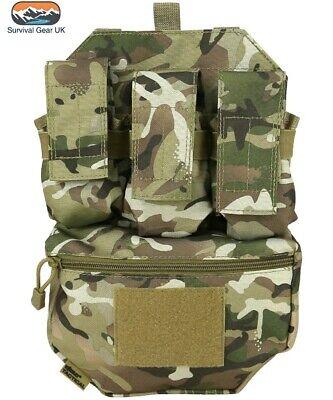 Kids Army Assault Outfit Soldier Fancy Dress Costume Boys BTP Back Vest Helmet