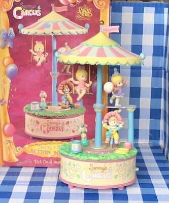 ULTRA RARE Enesco Precious Moments Sammy's Circus Multi-Action Music Box In Box