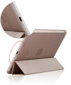 Luxury Slim Smart Wake Leather Case Cover for Apple iPad5 Air London Ontario image 4