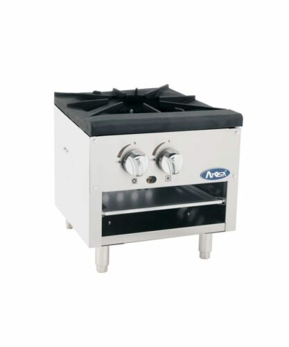 Atosa Atsp-18-1l Commercial Single Heavy Stock Pot Stove - Lower Style Lp Gas