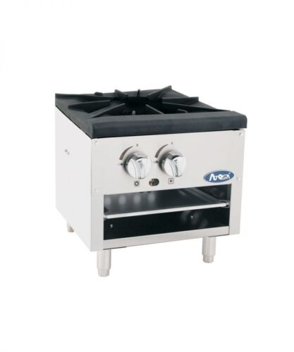Atosa Atsp-18-1l Commercial Single Heavy Stock Pot Stove - Lower Style Nat. Gas