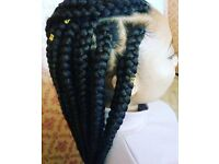 Braids, weave, twists, crochet, feed in cornrows STUDENT DISCOUNT limited time!