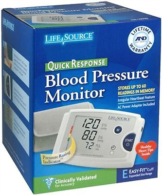 LifeSource Quick Response Blood Pressure Monitor UA-787EJ 1 Each (Pack of 3)