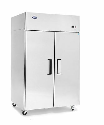 Commercial 2 Door Freezer Atosa Mbf8002 Free Shipping And Liftgate