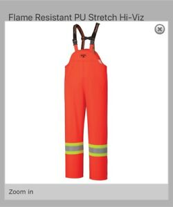 NEW! Hi-Vis FR water and wind proof overalls - 2XL