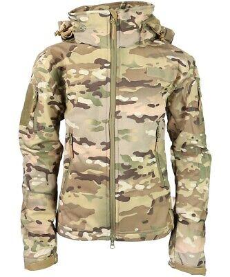 Kombat UK Kid's Patriot Soft Shell Jacket Children's Camouflage Hunting Shooting