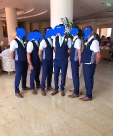 Men's Blue French Connection Waist Coats 40R & 46R