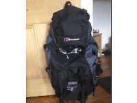 Berghaus Akamas 65+10L rucksack as new