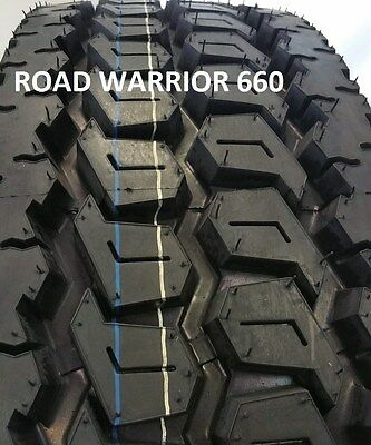 (4-TIRES) 295/75R22.5 DRIVE TIRE 4 BRAND NEW ROAD WARRIOR HEAVY DUTY  16 Ply