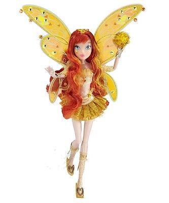 Princess GOLD BLOOM doll SDCC fashion WINX CLUB BELIEVIX comic-con FAIRY 2012
