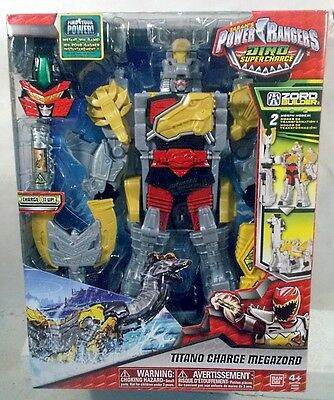 Power Rangers Dino Supercharge Titano Charge Megazord Zord Builder Super (Power Rangers Dino Super Charge Titano Zord)