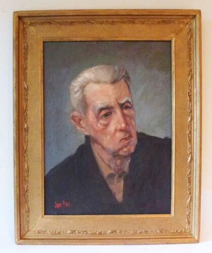 JADE FON OIL 1935/40 - OIL PAINTING ON WOOD PANEL -HOLLYWOOD PORTRAIT - LISTED - $575.00