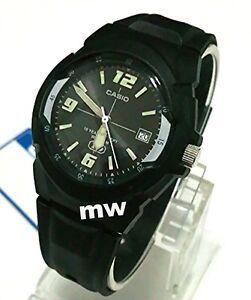 NEW-Casio-Mens-Watch-MW600F-1A-10-YEAR-Battery-100M-Black-Resin-Analog-Quartz