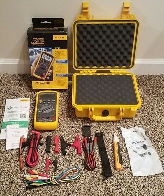 Fluke 87v Multimeter. Brand New. Mfg 2019. Hard Case All New Access.