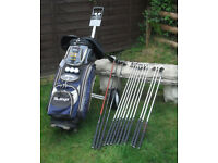 Full Set ofClubs,Bag,and Trolley