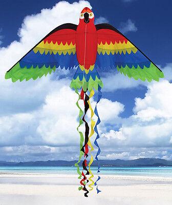 """(9) Kites Parrot Bird Shape 66"""" x 29"""" Kite Party Pack..126...SKD 01032"""