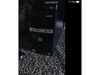 HP 500B P4 3,2 dual core 320gb HD 2GB ram.
