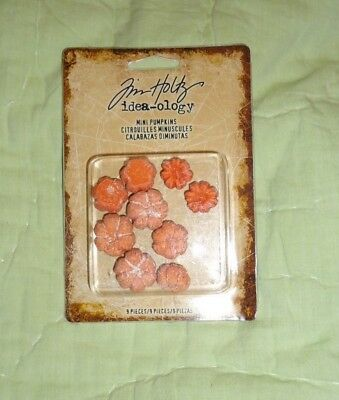 Tim Holtz® Idea-Ology® Mini Pumpkins TH93720 NEW](Pumpkin Craft Ideas)