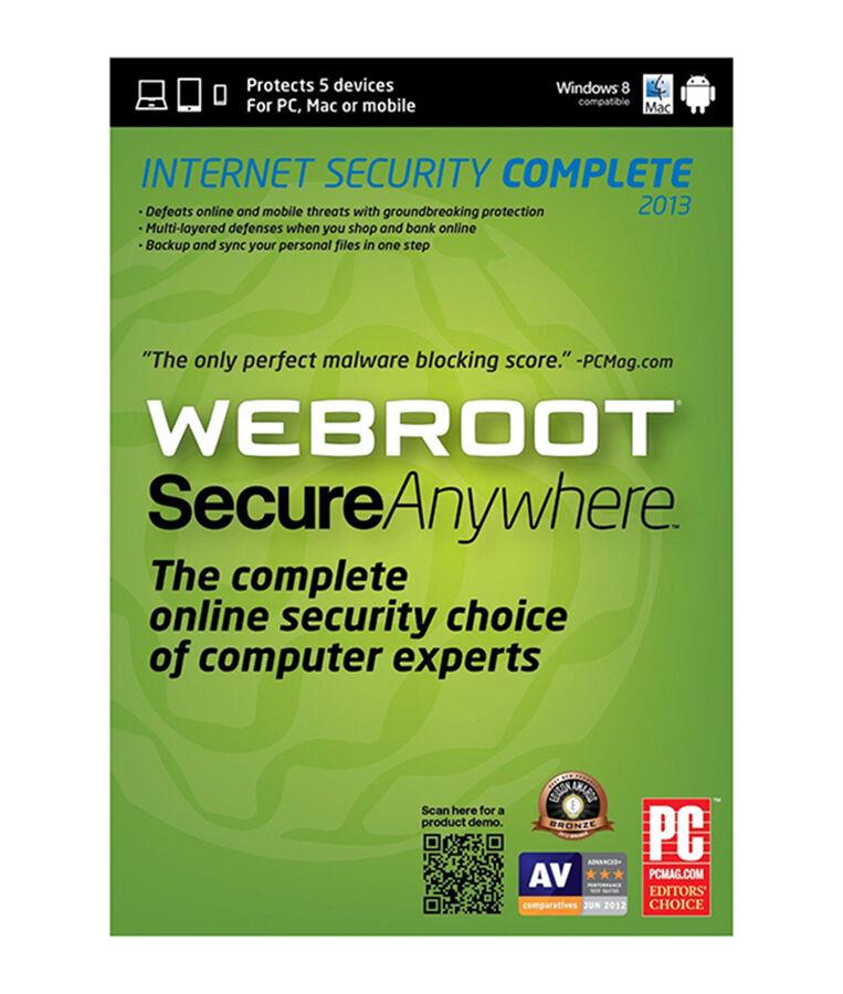 Webroot Software SecureAnywhere Antivirus 2013