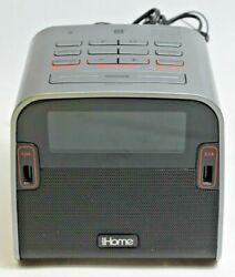 iHome HBN22 Blutooth NFC FM radio alarm clock Reson8 speaker chambers