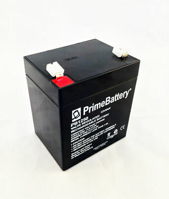 12v 5 Ah Rechargeable Battery For Exit Signs Emergency Lighting Backup