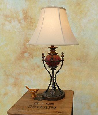 Tischlampe Lampe Stehleuchte Tischleuchte Schmiedeeisen italienisch PQ026-b