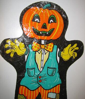Candy Treat Bag Jack O-lantern - HALLOWEEN candy treat bag puppet Pumpkin scarecrow jack o lantern