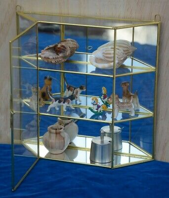 "16/""Hx14/""Wx5.5/""D Glass Display Showcase 9210"